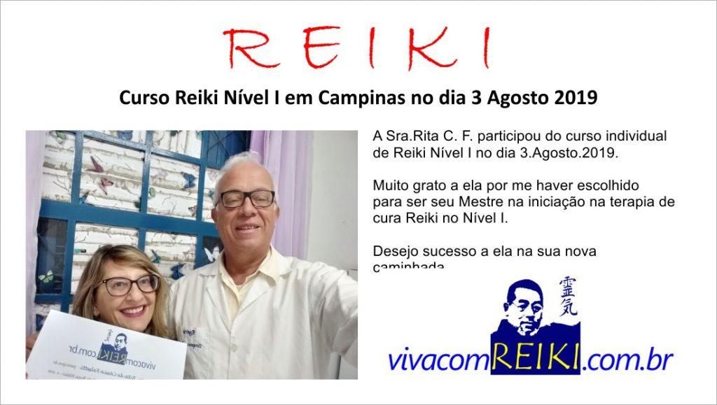 curso Reiki I em Campinas