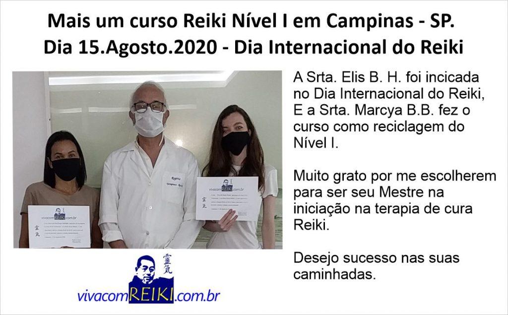 curso Reiki Nível I em Campinas